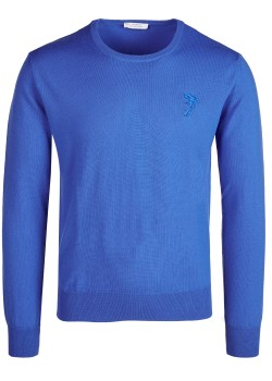 Versace Collection pullover blue