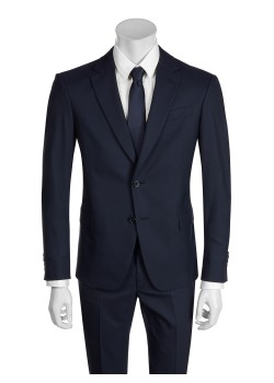 Tailor selected by Ermenegildo Zegna suit blue
