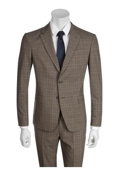 Tailor selected by Ermenegildo Zegna suit brown