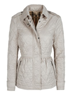 Burberry Brit Steppjacke light gray
