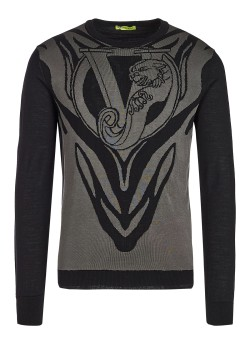 Versace Jeans Couture pullover black-grey