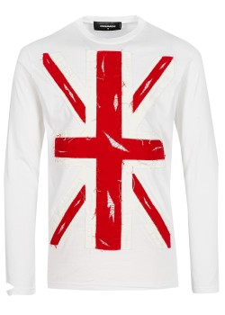 Dsquared Longsleeve white