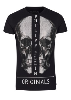 "Philipp Plein T-Shirt Round Neck SS ""Boston"""