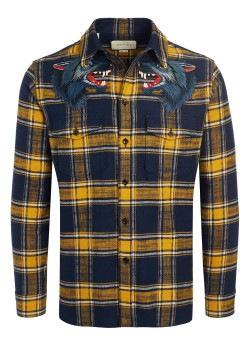 Gucci shirt plaid