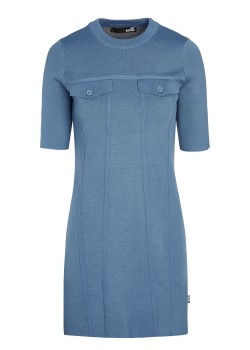 Love Moschino dress blue