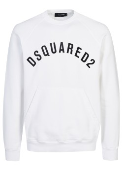 Sweater by Dsquared white