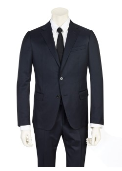 Zegna suit dark blue