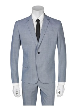 Pierre Balmain suit slim fit checkered