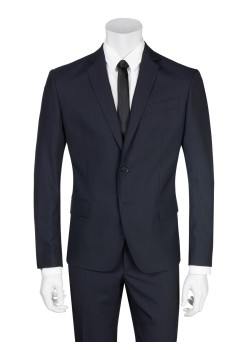Pierre Balmain suit slim fit dark blue