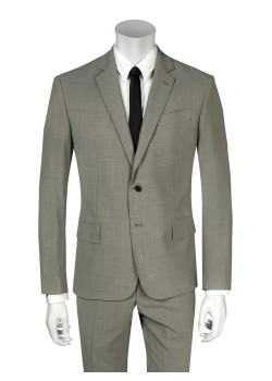Pierre Balmain suit slim fit brown