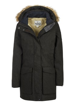 Woolrich WOOL FACE PATROL DOWN dark grey