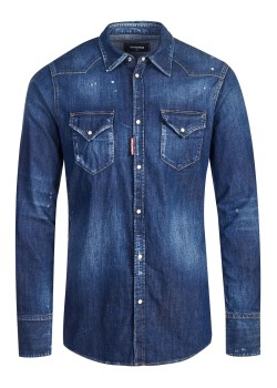 Dsquared shirt blue
