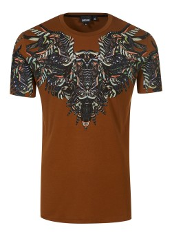 Just Cavalli t-shirt brown