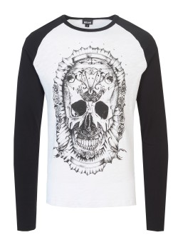 Just Cavalli longsleeve black & white