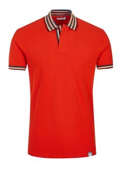 Versace Collection poloshirt red