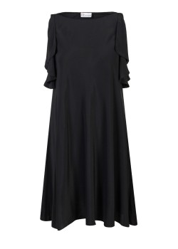 Red Valentino dress black