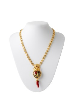 Necklace by Dolce & Gabbana Cuore Rose