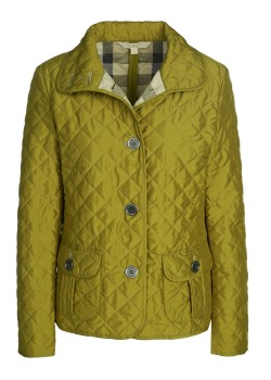 Burberry Brit quilted jacket green