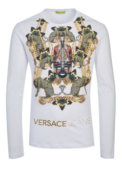 Versace Jeans Couture longsleeve white
