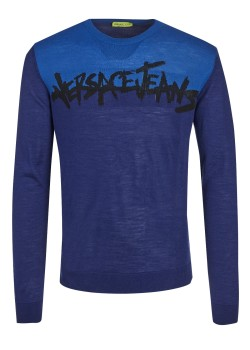 Versace Jeans sweater Filato Cotton Mix Jacquard