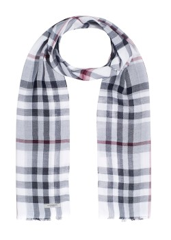 Burberry scarf black and white