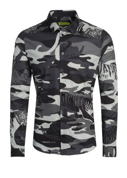 Versace Jeans Couture shirt camouflage
