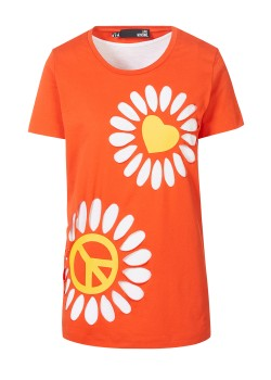 Love Moschino top red