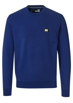 Love Moschino sweatshirt dark blue