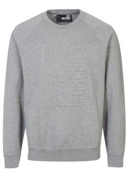 Love Moschino sweatshirt grey
