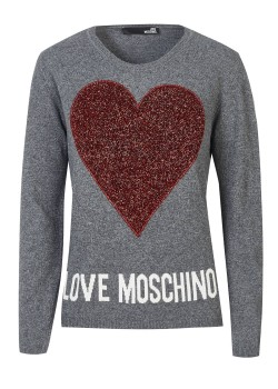 Love Moschino pullover grey