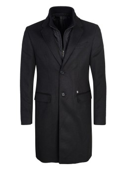 Bikkembergs coat black