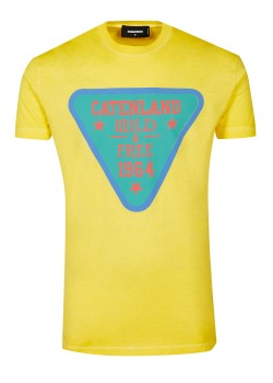 Dsquared t-shirt yellow