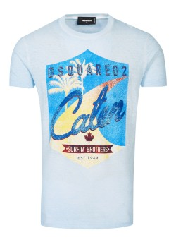 Dsquared t-shirt light blue