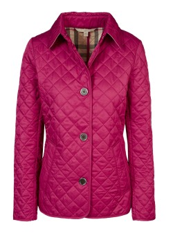 Burberry Brit quilted jacket pink
