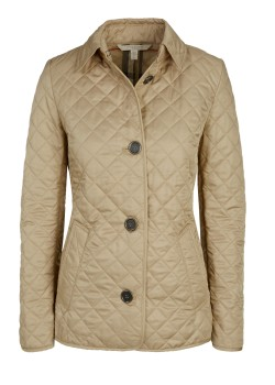 Burberry Brit quilted jacket beige