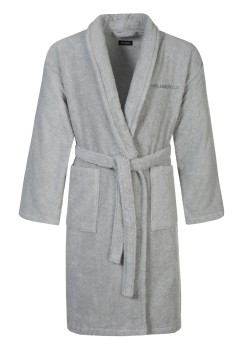 Karl Lagerfeld Bathrobe unisex grey