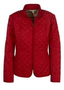 Burberry Brit quilted jacket red