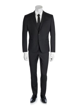 Pierre Balmain suit black