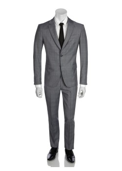Tailor selected by Ermenegildo Zegna suit grey-blue