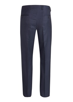 Tessuto Zegna pants pinstriped blue