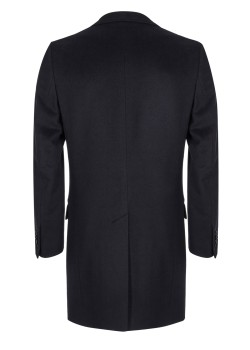 Loro Piana coat dark blue