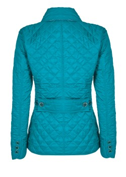 Burberry Brit quilted jacket turquoise