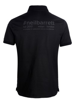 Neil Barrett poloshirt black
