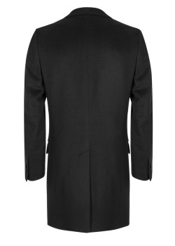 Loro Piana coat black