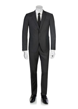 Zegna suit dark grey