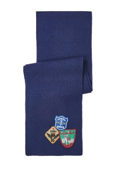 Dsquared scarf dark blue