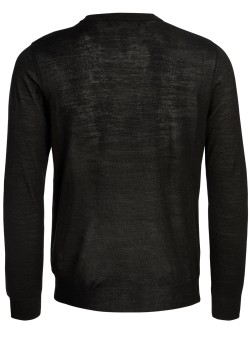 Love Moschino pullover black-grey