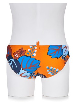Dsquared swimming trunk orange