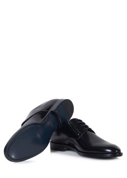Dolce & Gabbana lace-up shoes Derby Spazzolato Shiny A10341 AI935 80999