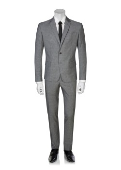 Pierre Balmain suit slim fit grey